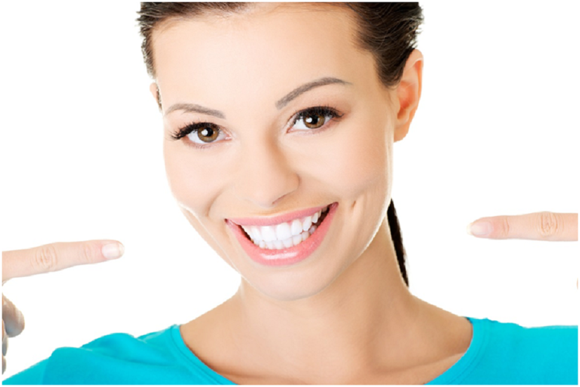 Who can help a person get their teeth straight?